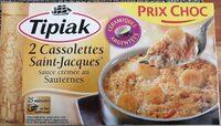 Cassolettes Saint Jacques sauce crémée sauterne - Produit - fr