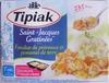 Saint-Jacques Gratinées*-Fondue de poireaux et pommes de terre, Surgelées - Produkt