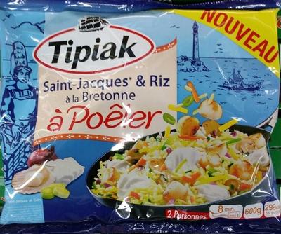 Saint-Jacques* & Riz à la Bretonne à Poêler, Surgelé - Product - fr