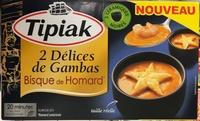 2 Délices de Gambas Bisque de Homard surgelés - Produit - fr