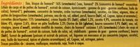 2 Délices de Gambas Bisque de Homard surgelés - Ingrédients - fr
