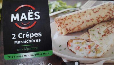 2 Crêpes Maraîchères aux Légumes - Produit