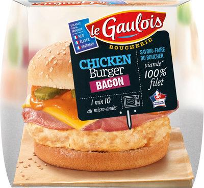 chicken burger bacon boucherie x1 - Produit - fr
