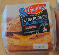 extra chicken burger sauce barbecue x1 - Product - fr