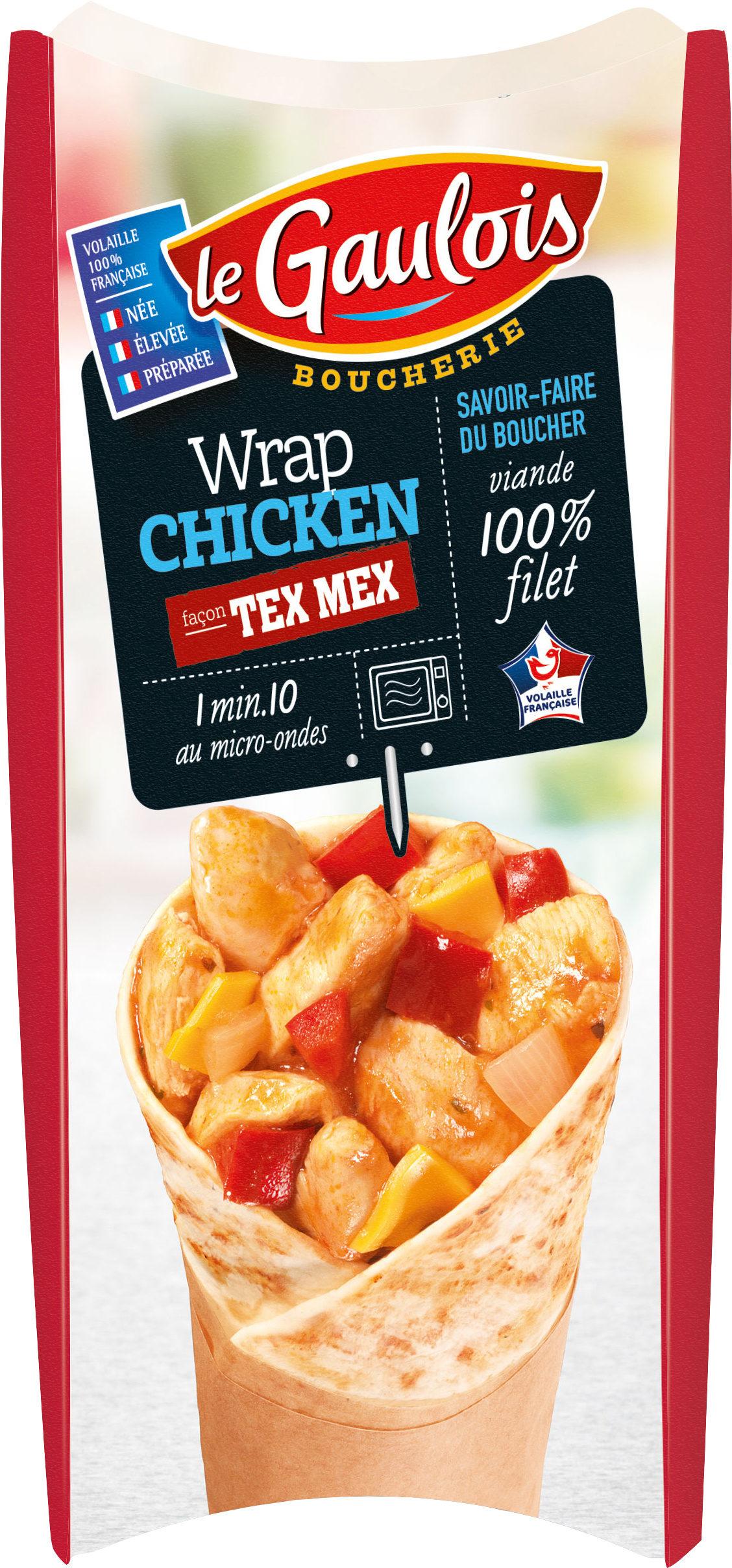 wrap chicken façon tex mex boucherie x1 - Product - fr