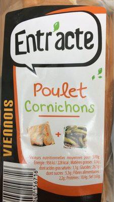 Sandwich Viennois Poulet Cornichons - Produit - fr