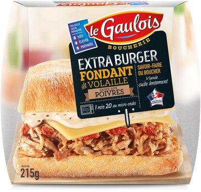 Extra burger fondant de volaille sauce poivre - Produit