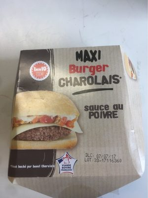 Maxi burger charolais - Product