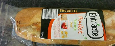 Sandwich Poulet tomate oeuf - Product - fr