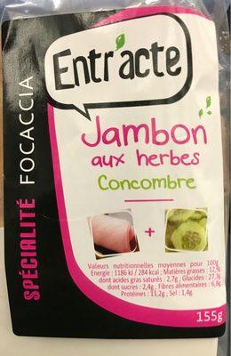 Jambon aux herbes concombre - Produit - fr