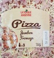 Pizza jambon fromage - Informations nutritionnelles
