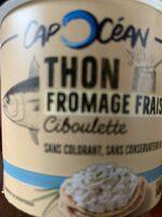 Thon Fromage frais & Ciboulette - Product - fr