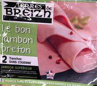 Le bon jambon breton - Product - fr