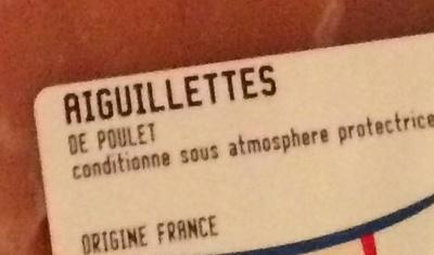L'Aiguillette de Poulet - Ingrédients - fr