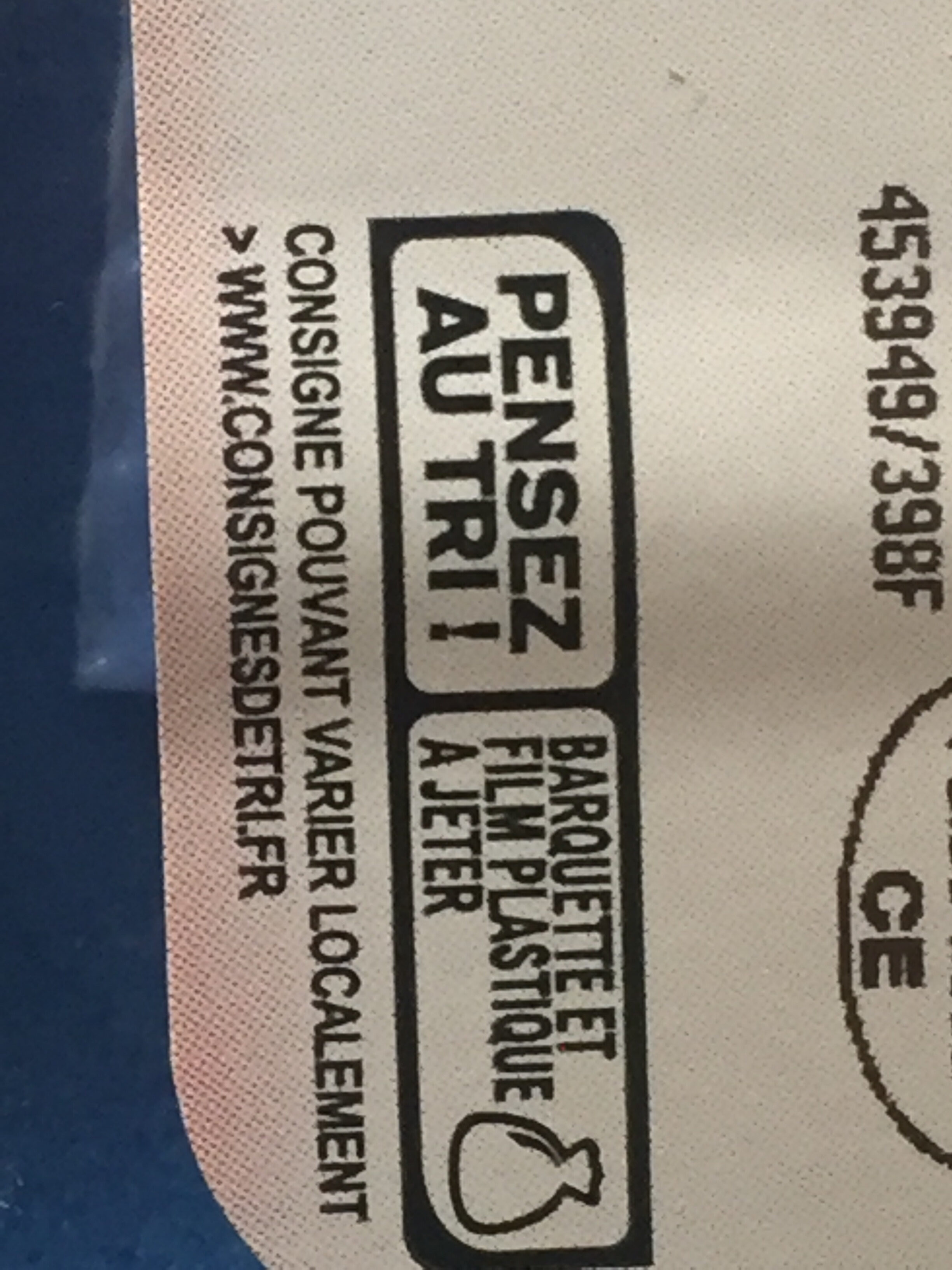 L'Aiguillette de Poulet - Instruction de recyclage et/ou informations d'emballage - fr