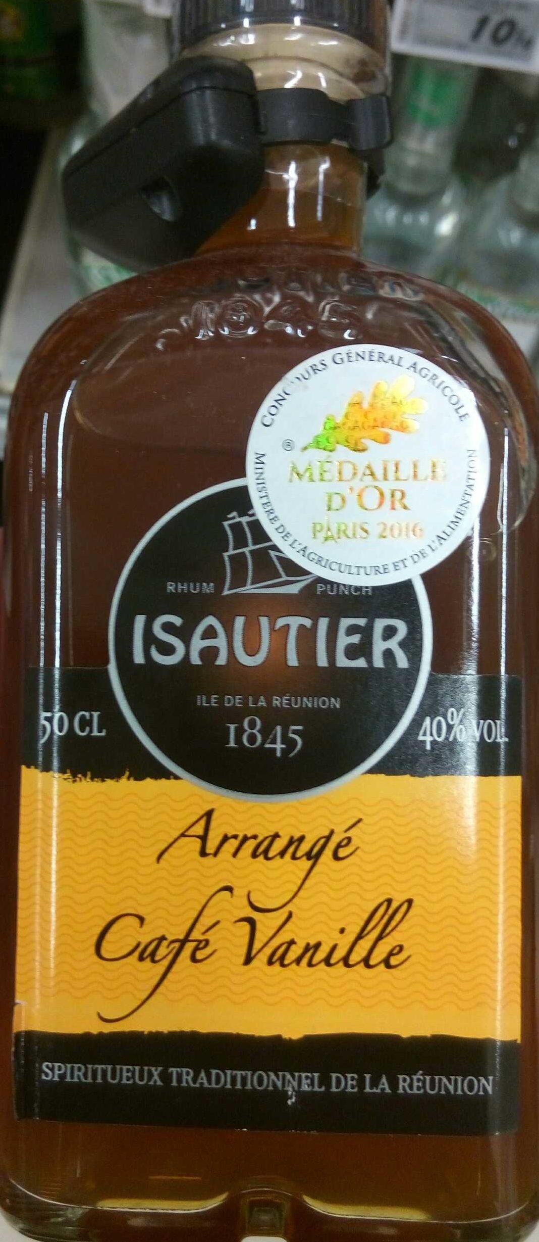 L'arrangé Café Vanille Isautier - Product