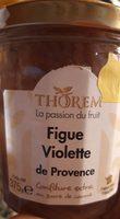 Confiture figue violette de Provence - Produit