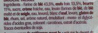 Brioche tressée pur beurre - Ingredientes