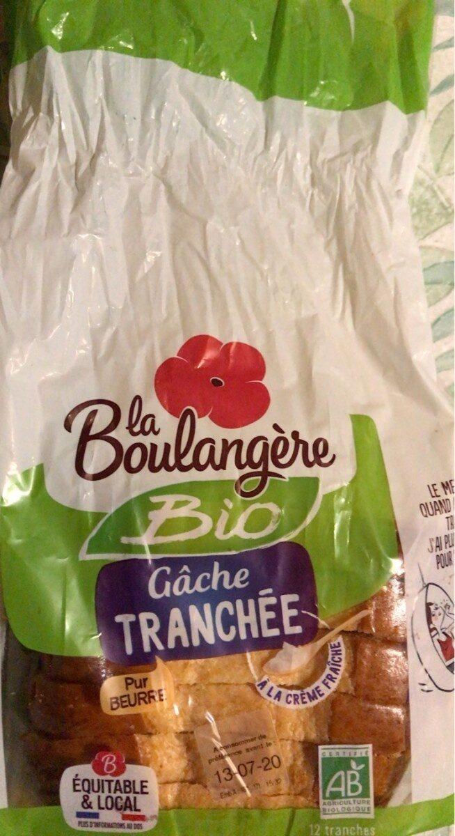 Gache tranchée bio - Producto - fr