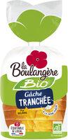 Gâche tranchée pur beurre bio - Product - fr