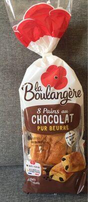8 Pains au Chocolat pur beurre - Product