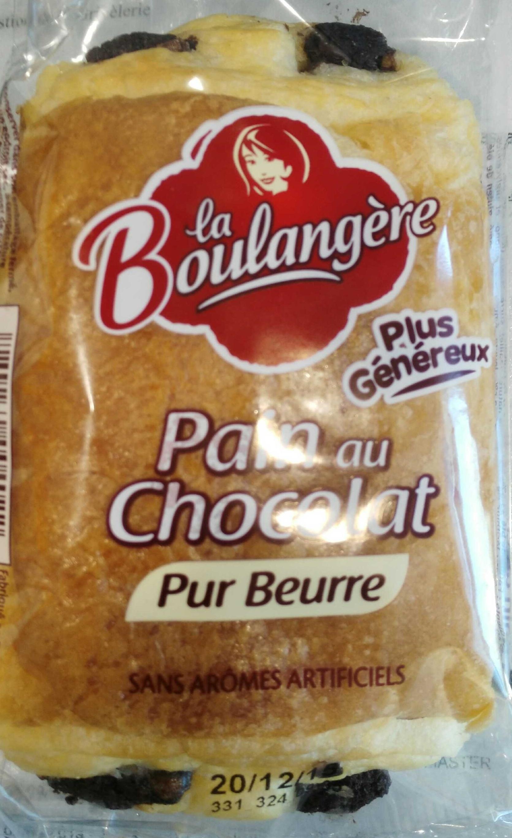 Pain au chocolat pur beurre - Produit - fr