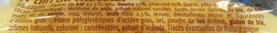 Pain au chocolat pur beurre - Ingrédients - fr