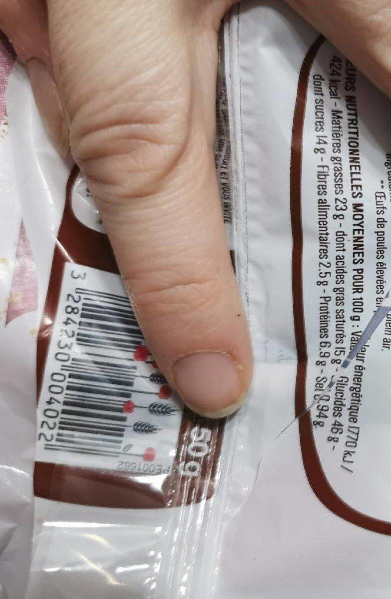 Pain au chocolat pur beurre - Valori nutrizionali - fr