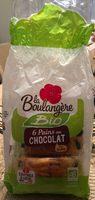 6 Pains au chocolat pur beurre Bio - Product - fr