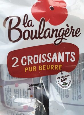 Croissant X 2 La Boulangere - Voedingswaarden