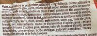 Pain au raisin - Ingrédients - fr