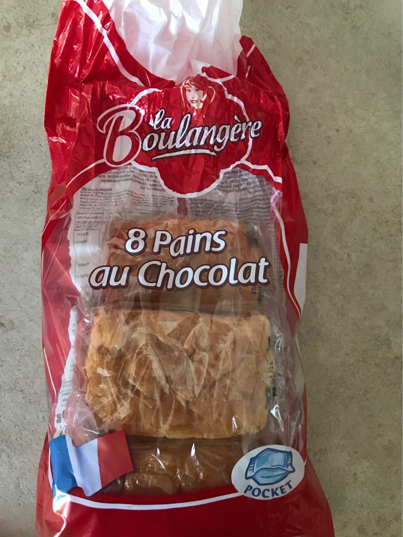 Pain Chocolat X8 - Produit - fr