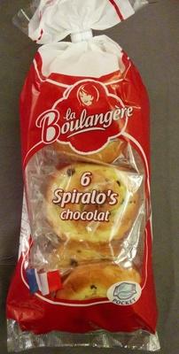 6 spiralo's chocolat - Prodotto - fr