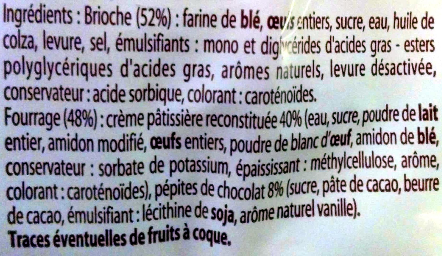 6 spiralo's chocolat - Ingredienti - fr