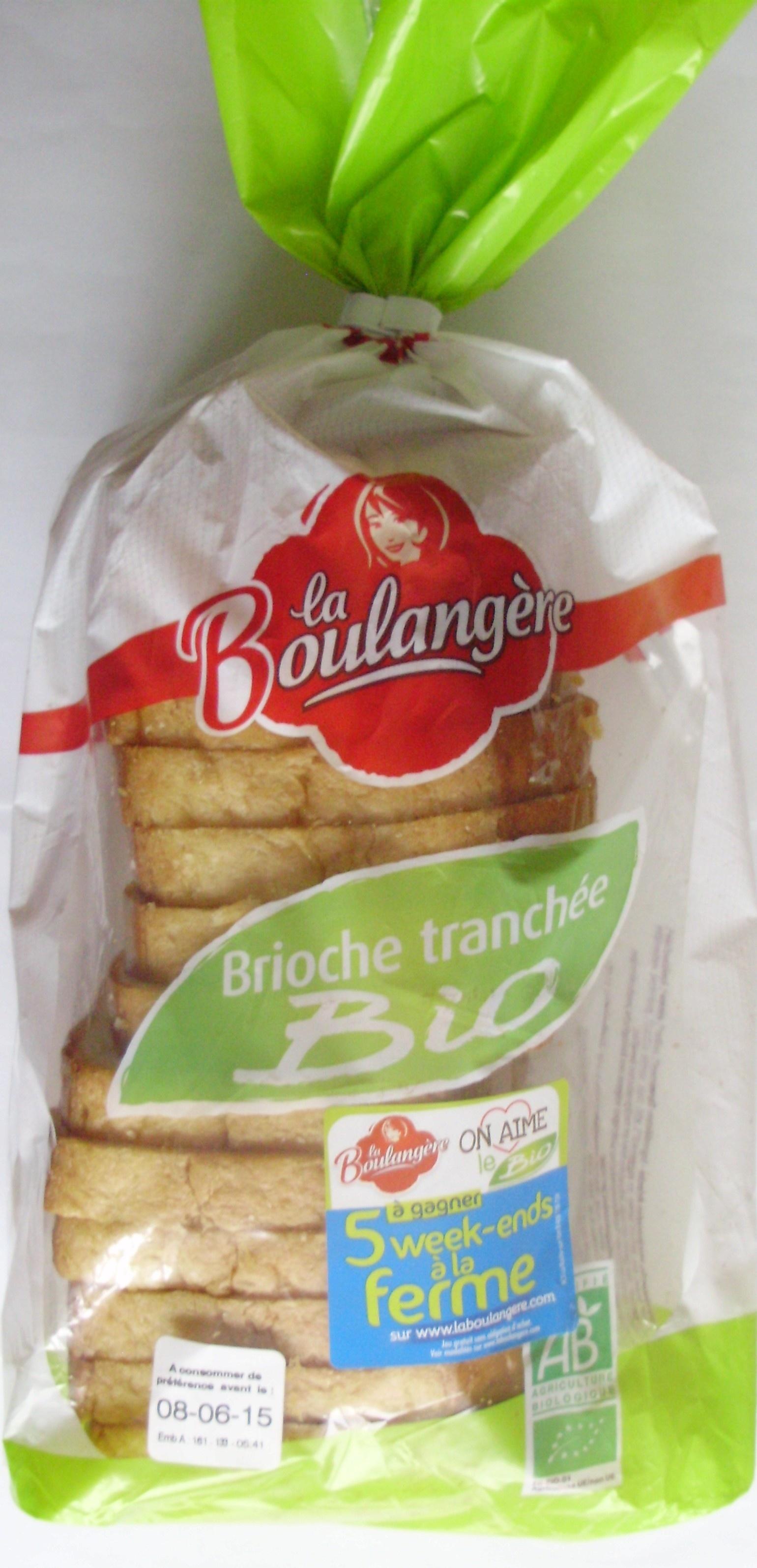 Brioche tranchée Bio - Produit - fr