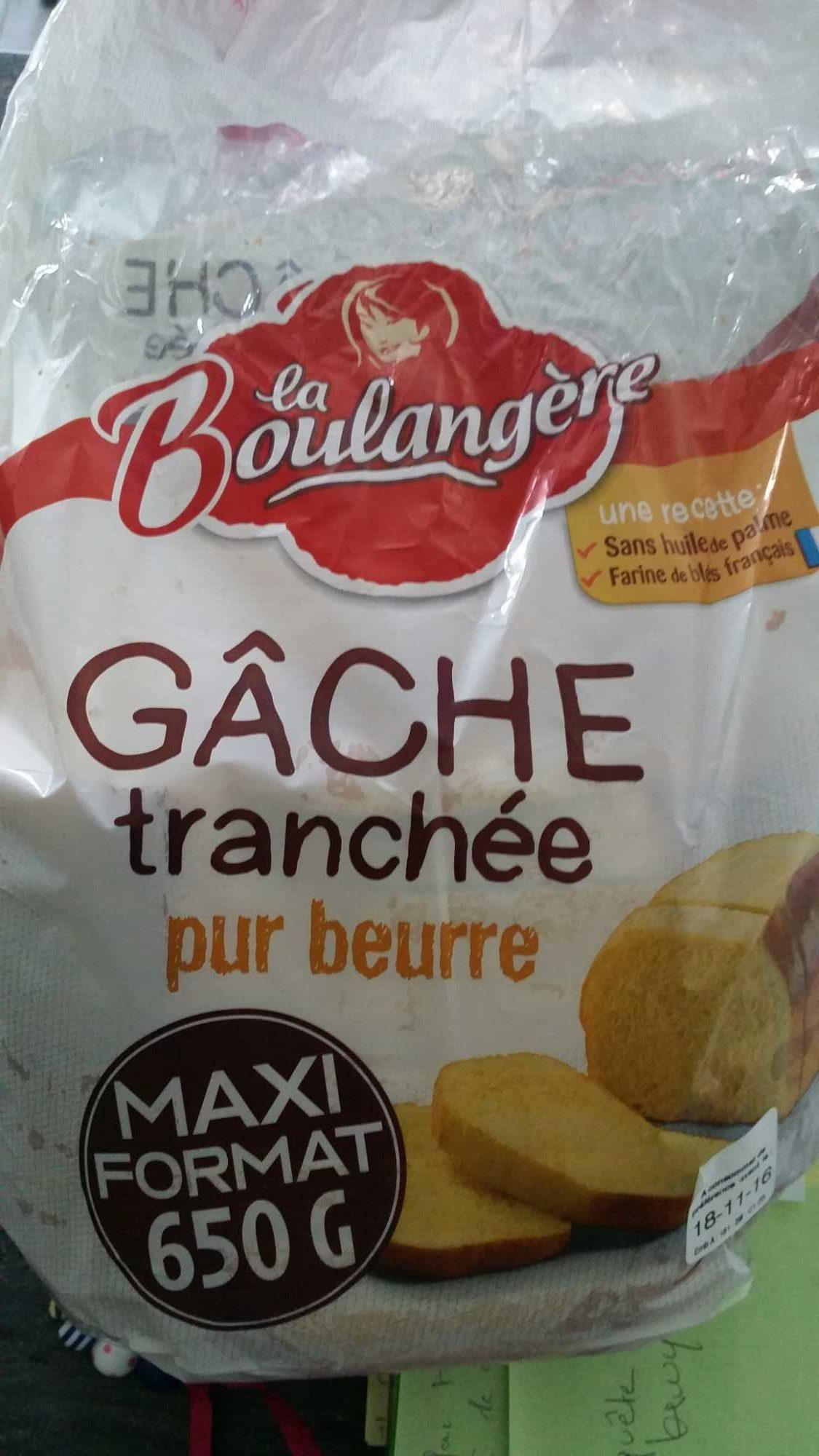 Gâche Tranchée Pur Beurre - Product
