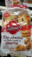 8 Briochettes aux petits carrés de Chocolat - Prodotto - fr