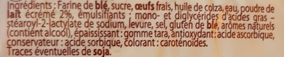 Pain Au Lait Nature 10 La Boulangère - Ingredienti - fr