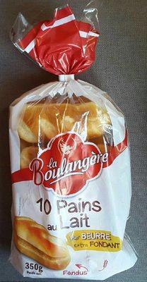 10 Pains au Lait  Déjà Fendus Pur Beurre - Product - fr