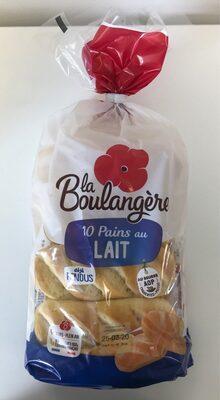 10 Pains au Lait  Déjà Fendus Pur Beurre - Produit - fr