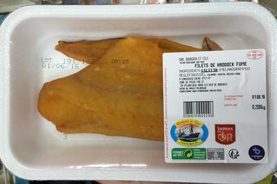 Filets de Haddock fumé - Produit - fr