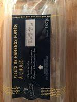 Filets de harengs fumés à l'huile - Produit - fr