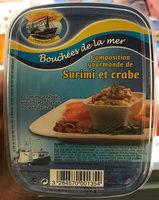 Composition gourmande de Surimi et crabe - Produit - fr