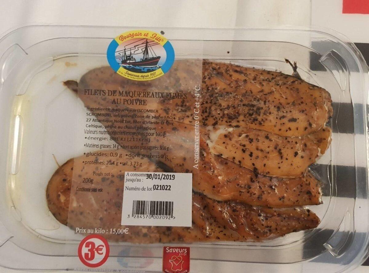 Filets de maquereaux fumés au poivre - Prodotto - fr
