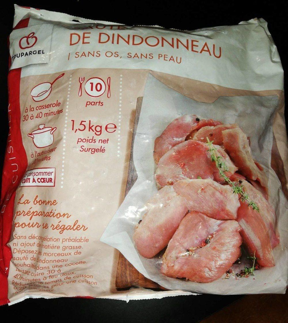 Sauté de dindonneau - Produit