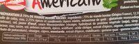 Haché Américain - Voedingswaarden - fr