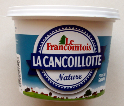La cancoillotte Nature 6,5% M.G. - Product