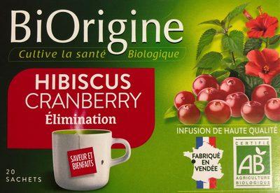 Tisane Cranberries - Produit