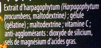 Harpagophytum Confort des articulations - Ingrédients - fr