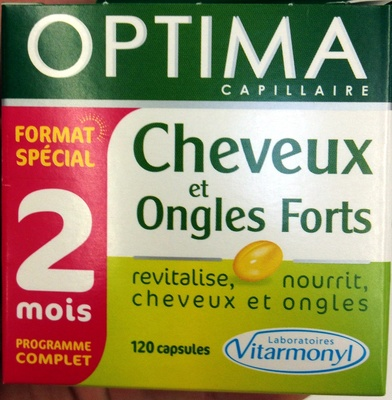 Cheveux et ongles forts - Product - fr